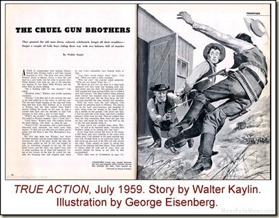 02 - TRUE ACTION - 1959 07 July - Walter Kaylin, art George Eisenberg