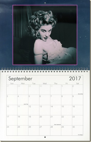 09 Sept - Eva Lynd calendar cover