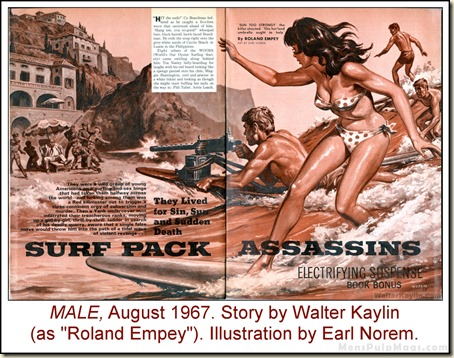 13 - MALE, Aug 1967, Walter Kaylin story, Earl Norem art