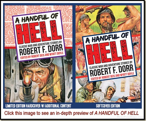 - A HANDFUL OF HELL, Robert F. Dorr preview REV