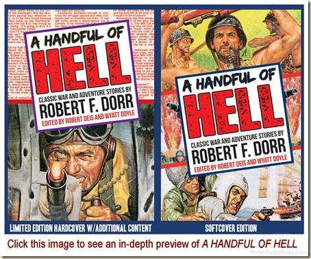 A HANDFUL OF HELL, Robert F. Dorr preview REV