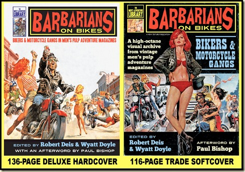BARBARIANS ON BIKES book covers