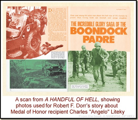Boondock Padre Charlie Litely, from HANDFUL OF HELL p1&2 REV2