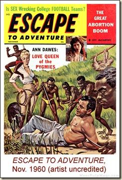 Escape To Adventure, November 1960