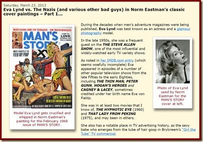 Eva Lynd & the Nazis bd