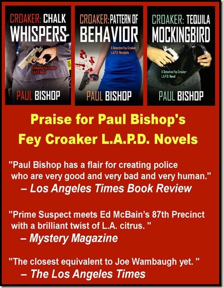 Fey Croaker, Paul Bishop series