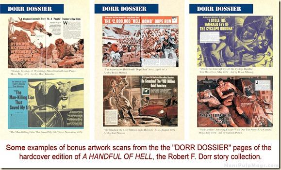 HANDFUL OF HELL, Robert F. Dorr p154, 176 & 190 3