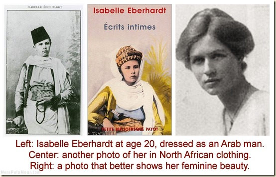 Isabelle Eberhardt photos at age 20 REV