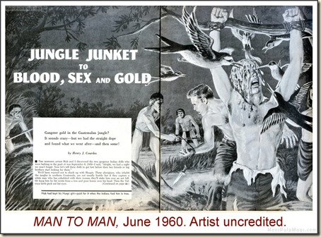 MAN TO MAN, June 1960, artist uncredited