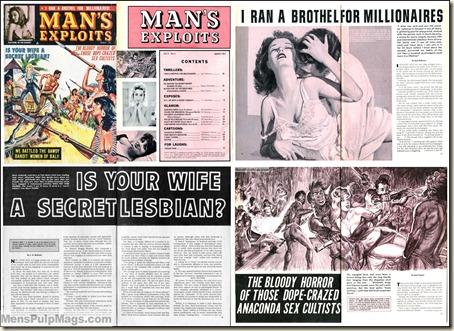 MAN'S EXPLOITS - 1964 03 March - scans