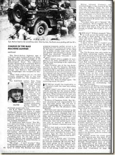 MAN'S MAGAZINE, Jan 1967. Robert F Dorr Mad Machine Gunner p3WM