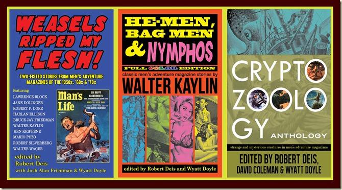 Men's Adventure Library books