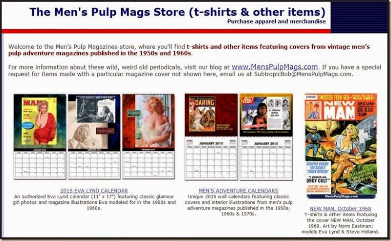 MensPulpMags.com CafePress store