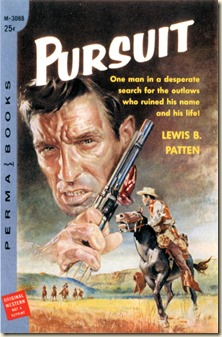 PURSUIT (1959). Cover art by Basil Gogos