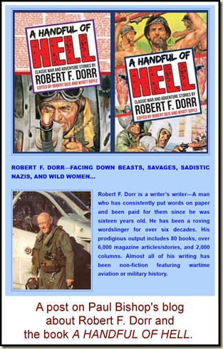 Paul Bishop post about Robert F Dorr