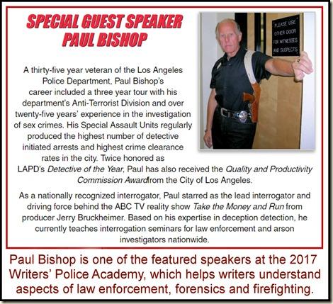 Paul Bishop writer & speaker