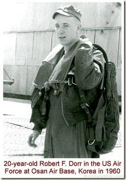 Robert F. Dorr, Osan Air Base, Korea, April 6, 1960