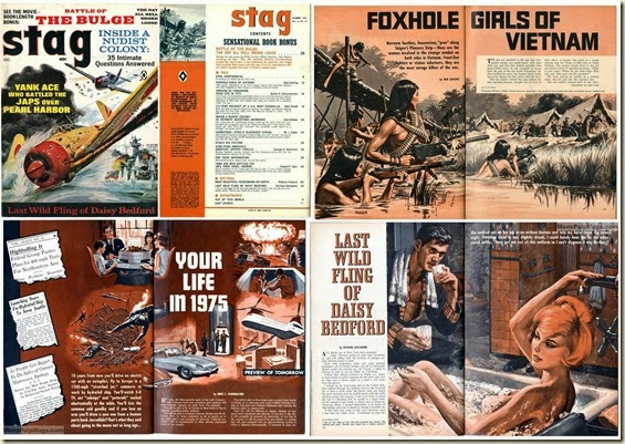 STAG, December 1965 - Collage of stories