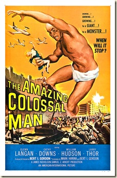 THE AMAZING COLOSSAL MAN poster by Albert Kallis