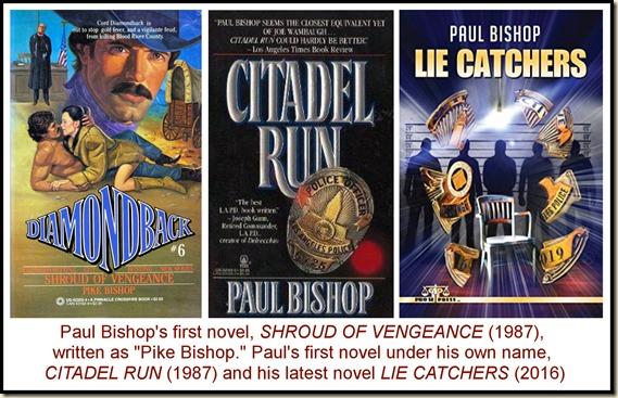 Three books by Paul Bishop
