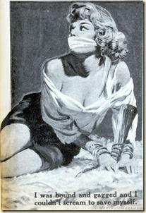 WILDCAT ADVENTURES, June 1959. Basil Gogos artwork with gag