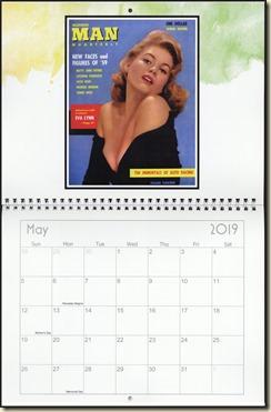 Eva Lynd 2019 calendar - May Eva