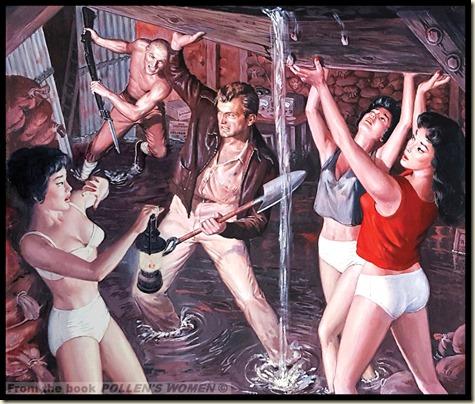 STAG ANNUAL No. 1, 1964, Art by Samson Pollen WM 1000