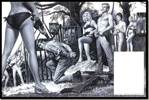 Samson Pollen art used in MEN, Dec 1966 WM