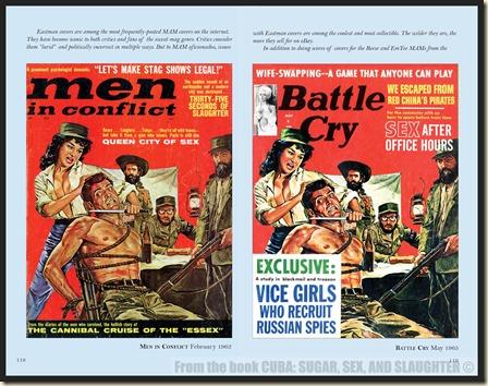 - CUBA in Men's Adventure Magazines p118 & 119 WM