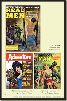 CUBA in Men's Adventure Magazines p48 & 49 ABD