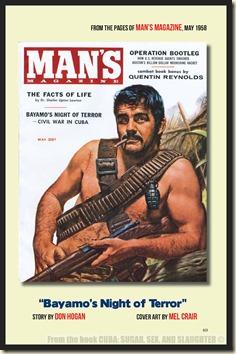 CUBA in Men's Adventure Magazines p48 & 49 WM