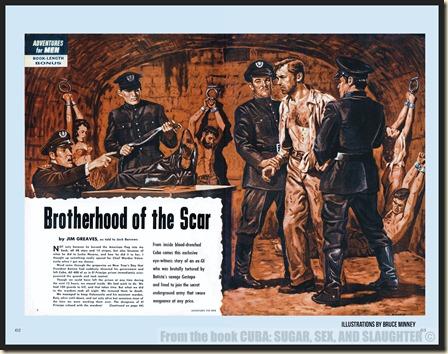 CUBA in Men's Adventure Magazines p62 & 63 WM