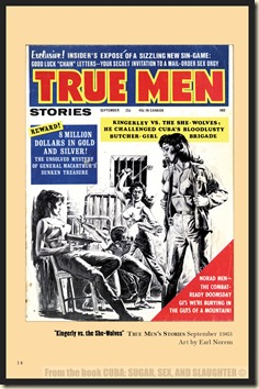CUBA in Men's Adventure Magazines p14 & 15 WM