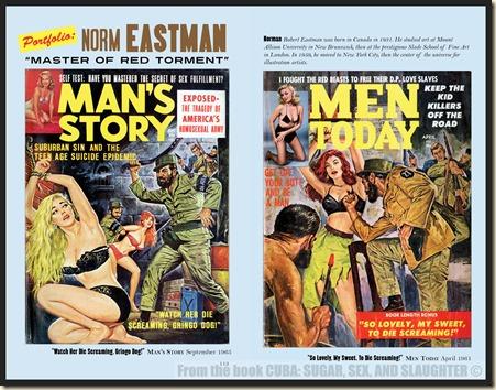 CUBA in Men's Adventure Magazines p113 & 114