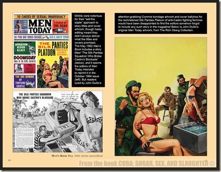 CUBA in Men's Adventure Magazines p10 & 11 WM