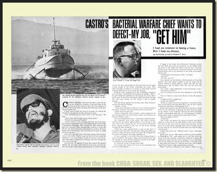 CUBA in Men's Adventure Magazines p162 & 163 WM