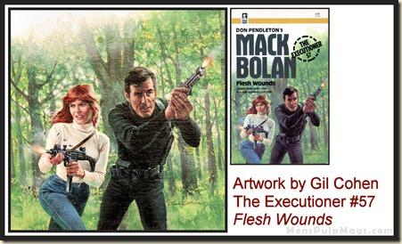 Executioner #57, art by Gil Cohen, MensPulpMags.com