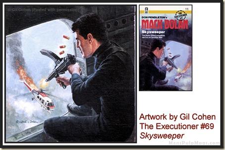 Executioner #69, art by Gil Cohen, MensPulpMags.com