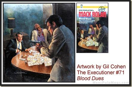 Executioner #71, art by Gil Cohen, MensPulpMags.com REV