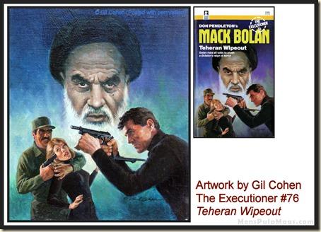 Executioner #76, art by Gil Cohen - MensPulpMags.com
