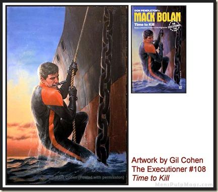 Executioner #108, art by Gil Cohen, MensPulpMags.com WM