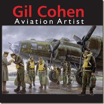 Gil Cohen Aviation Artist book - Coming Home, England 1943