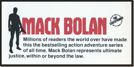 Mack Bolan - STONEY MAN silhouette (Gil Cohen)