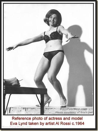 Al Rossi photo of Eva Lynd c1964