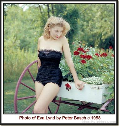 Peter Basch photo of Eva Lynd color MPM