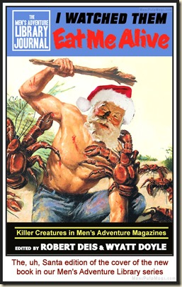 I WATCHED THEM EAT ME book. Santa spoof MPM