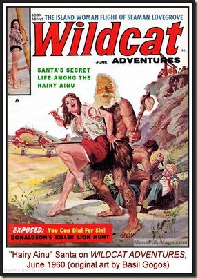 WILDCAT ADVENTURES, June 1960, spoof cover MPM