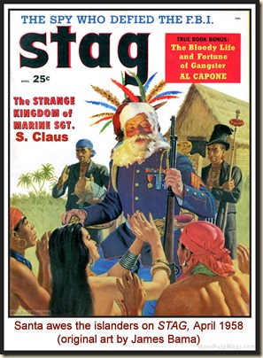 STAG, April 1958 - spoof cover MPM
