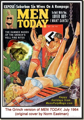MEN TODAY, July 1964 - spoof cover MPM