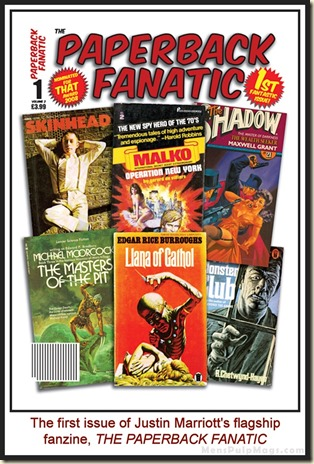 PAPERBACK FANATIC, Issue 1 wm